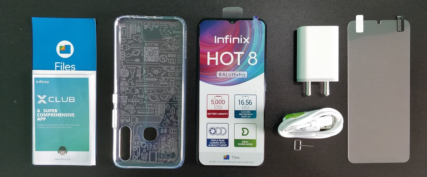 Unboxing Infinix Hot 8, a ₹6,999 Phone with 4GB RAM, 64GB Storage, 5000mAh Battery and Triple Camera-techinfoBiT