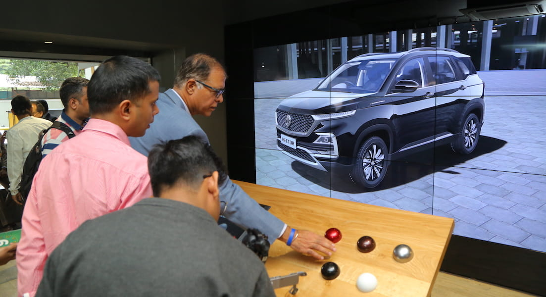 MG Digital Studio- India-s First Car-Less Digital Showroom by MG Motors-MG-Hector-techinfoBiT