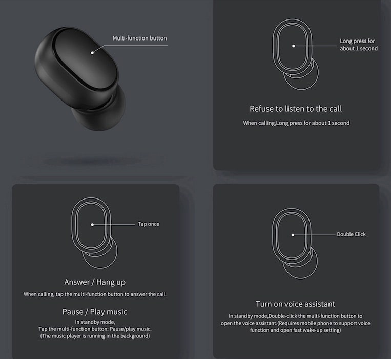 Xiaomi AirDots, A Truly Wireless Budget Earphones You Were Looking For-techinfoBiT