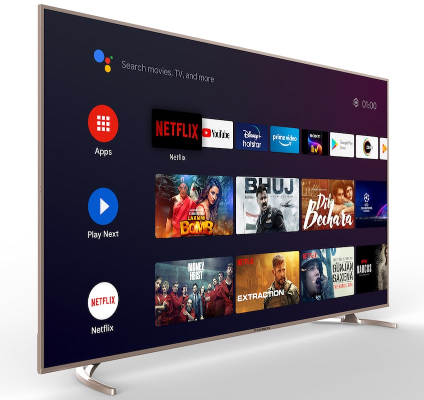 Thomson Enters Into the Luxury Segment with 75 inches Premium 'Make in India' Certified Android TV-techinfoBiT