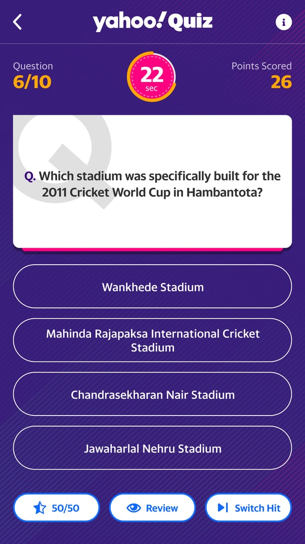 Yahoo Cricket App Review, A One-Stop Destination for Cricket Fans - techinfoBiT